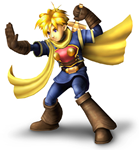 Isaac in Super Smash Bros. Brawl